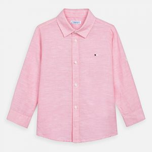 CAMISA MAYORAL ART: 141 LINO COLOR ROSA MINI NIÑO