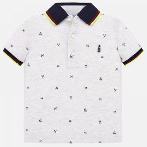 POLO MAYORAL NIÑO ART: 1153 COLOR VAPOR VIGOR BABY