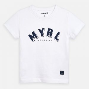 CAMISETA MAYORAL ART: 170 BLANCO