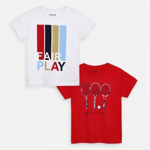 CAMISETA PACK MAYORAL ART: 3054 ROJO