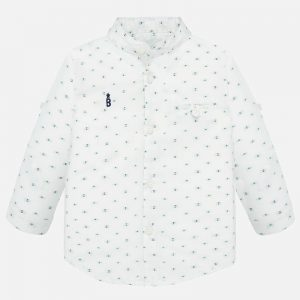 CAMISA MAYORAL ART: 1163 COLOR BLANCO BABY NIÑO