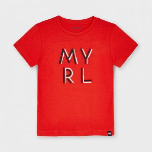 CAMISETA MAYORAL ART: 170 ROJO